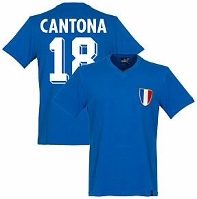1968 France Olympics Retro Shirt + Cantona 18