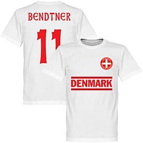 Denmark Bendtner 11 Team Tee - White