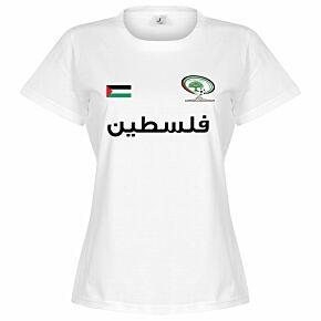 Palestine Womens Tee - White