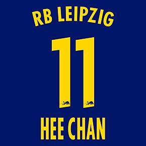 Hee-chan Hwang 11 (Official Printing) - 20-21 RB Leipzig Away