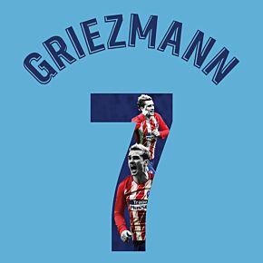 Griezmann 7 (Gallery Style)