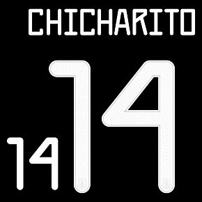 Chicharito 14 (Official Printing) - 21-22 Mexico Home