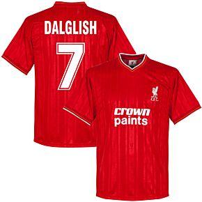 1986 Liverpool Home Retro Shirt + Dalglish 7