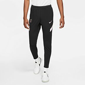 21-22 PSG Strike Track Pants - Black/Pink