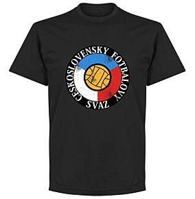 Czechoslovakia Tee - Black