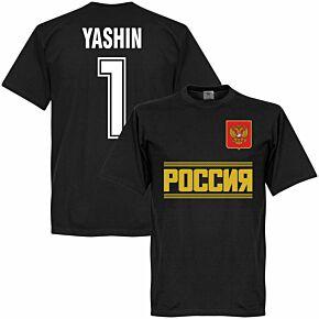 Russia Yashin Team Tee - Black