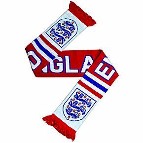 England Fan Scarf - Red