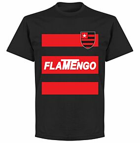 Flamengo Team T-shirt - Black