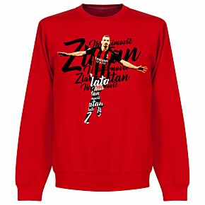 Ibrahimovic Script KIDS Sweatshirt - Red
