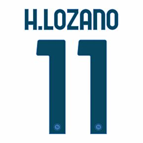 H.Lozano 11 (Official Printing) - 20-21 Napoli Away