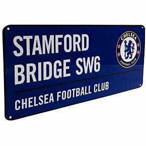 Chelsea Color Street Sign - 40cm x 18cm