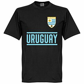 Uruguay Team KIDS Tee - Black