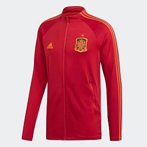 2021 Spain Anthem Jacket - Red
