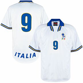 Nike Italy 1996-1998 Away Shirt - NEW (In Bag w/tags) - Player Issue Number 9 Torricelli - Size XL