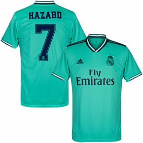 adidas Real Madrid 3rd Hazard 7 Jersey 2019-2020