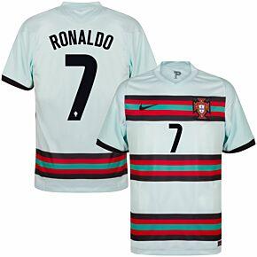 20-21 Portugal Away Shirt + Ronaldo 7 (Official Printing)