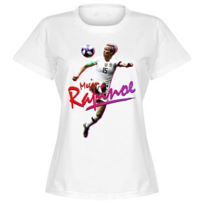Megan Rapinoe Womens Tee - White