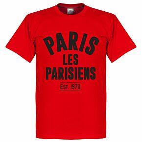 Paris Established Tee - Red