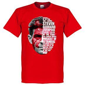 Gerrard Tribute Tee - Red