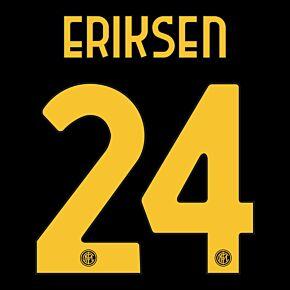 Eriksen 24 (Official Printing) - 20-21 Inter Milan 3rd