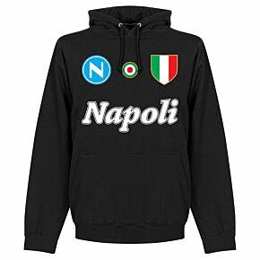 Napoli Team Hoodie  - Black