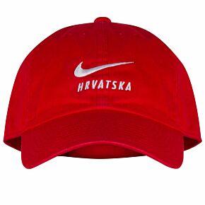 20-21 Croatia Swoosh Cap - Red