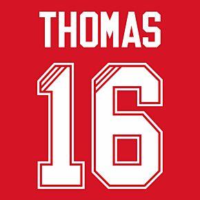 Thomas 16 (Retro Flock Printing) 95-96 Liverpool Home