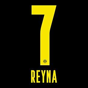 Reyna 7 (Official Printing) - 21-22 Borussia Dortmund Away