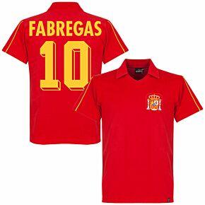 1980's Spain Retro Shirt + Fabregas 10