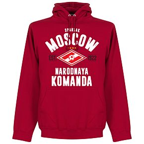 Spartak Moscow Established Hoodie - Red