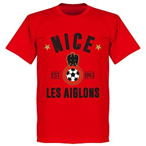 Nice Established T-Shirt - Red
