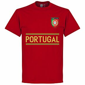 Portugal Team Tee - Red