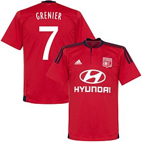 Olympique Lyon Away Grenier Jersey 2015 / 2016 (Fan Style Printing)
