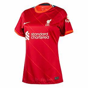 21-22 Liverpool Womens Home Shirt