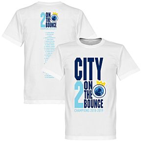 City 2 on the Bounce Champions Squad Tee - White