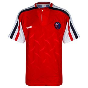 Hummel Norway 1990-1992 Home Jersey - USED Condition (Excellent) - Size Large