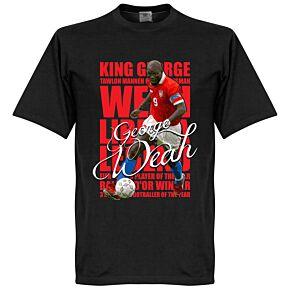 George Weah Legend Tee - Black