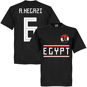 Egypt A. Hegazi 6 Team Tee - Black