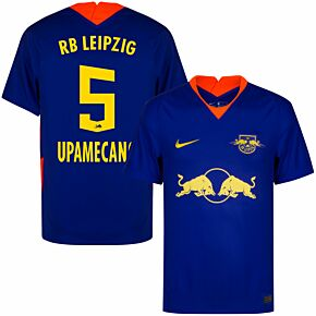 20-21 RB Leipzig Away Shirt + Upamecano 5 (Official Printing)