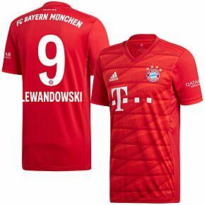 adidas Bayern Munich Home Lewandowski 9 Jersey 2019-2020 (Official Printing)