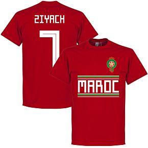 Morocco Ziyach 7 Team Tee - Red