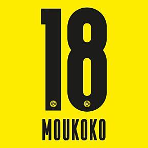 Moukoko 18 (Official Printing) - 20-21 Borussia Dortmund Home