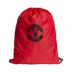 21-22 Man Utd Gym Sack - Red/Black