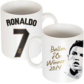 Ronaldo Ballon d'Or Mug