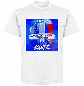 Kante 'What's His Name?' T-shirt - White