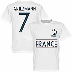 France Griezmann 7 Team Tee - White