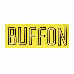 Buffon Nameblock 03-04 Juventus Home GK