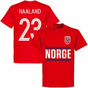 Norway Haaland 23 Team T-shirt - Red