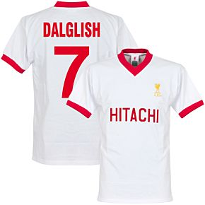1978 Liverpool Away Retro Shirt + Dalglish 7