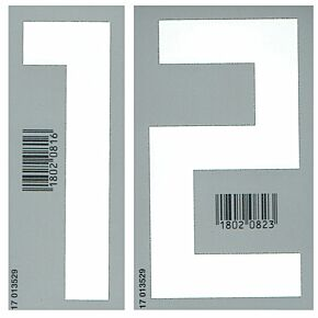 18-19 Germany Away Front Numbers (110mm)